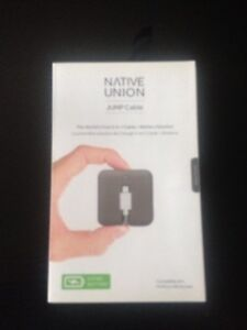 Native Union JUMP Cable - World's first 2-in-1 charging cable &