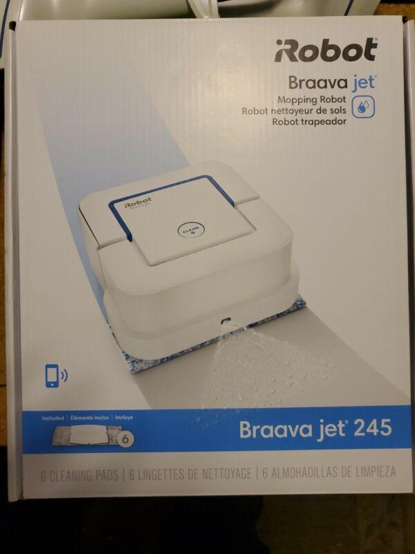 iRobot Braava Jet 245 Automatic Mopping Robot - New - Sealed - Free Shipping