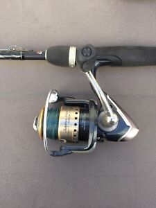 Rod and reel combo