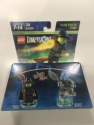 LEGO Dimensions Fun Pack 71221 Wizard of Oz - Wicked Witch and Winged Monkey