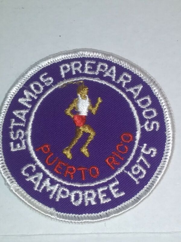 1975 Estamos Preparados. Puerto Rico Camporee Patch