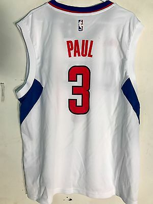 66e9671124e5 Adidas NBA Jersey Los Angeles Clippers Chris Paul White sz S