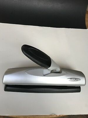 Swingline 3 Hole Punch Desktop Punches 2-7 Holes Lighttouch High Capacity