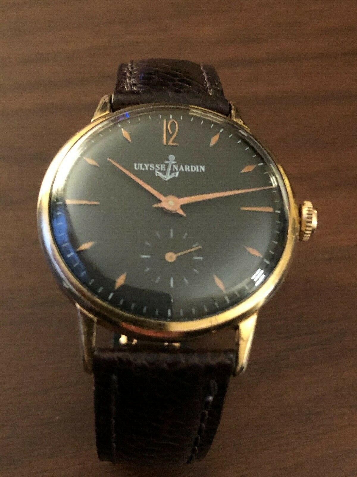 Ulysse Nardin Vintage 1950's Winding Watch