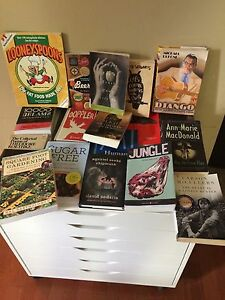 Adult fiction/non fiction lot