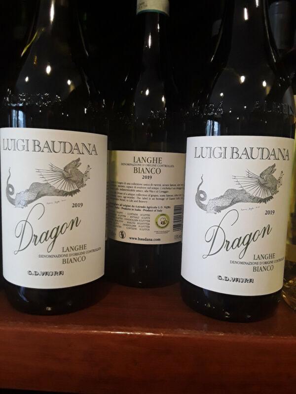 3 Bott. da Lt. 0, 750 LUIGI BAUDANA DRAGON LANGHE BIANCO 2019 G.D. VAJRA
