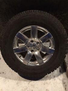 Jeep rims w/ winter tires