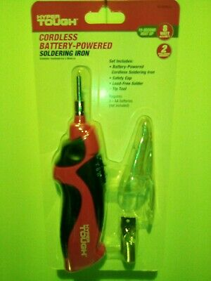 Hyper Tough Cordless Battery Operated Soldering Iron