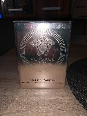 Versace Eros Pour Femme 50ml Women's Eau de Parfum NEW And Sealed