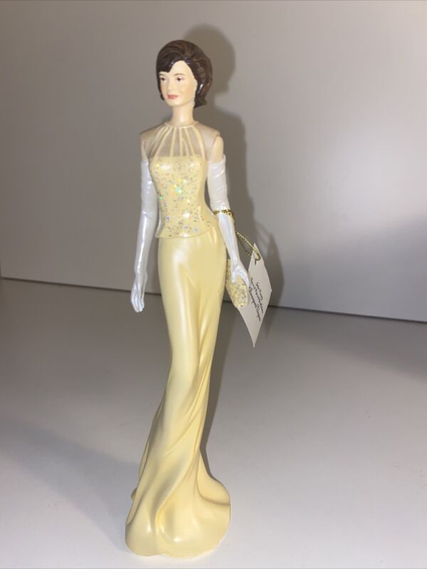 """Jackie Kennedy Hamilton Collection Collectible Figurine """"Inaugural Elegance"""""""