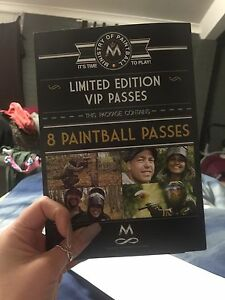 8 paint ball tickets Swansea Lake Macquarie Area Preview