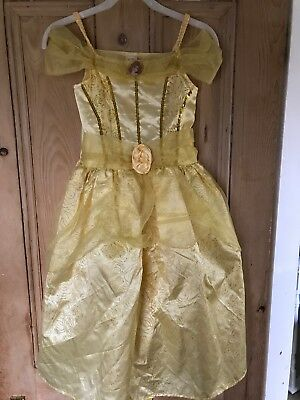 Belle Costume Age 7-8 From Beauty and the Beast