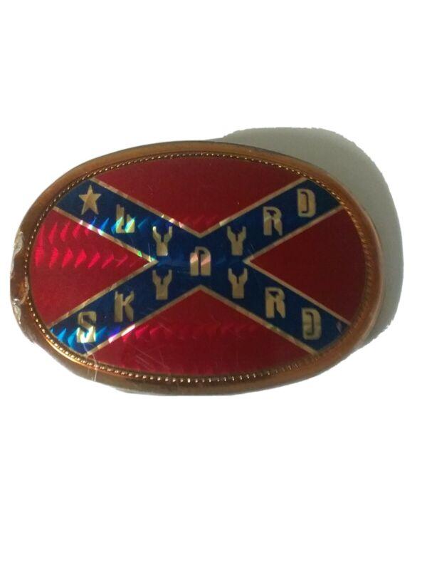 Lynyrd Skynyrd Vintage Belt Buckle 1977 Pacifica