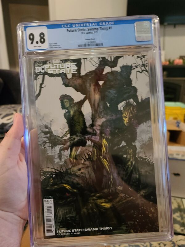 Future State Swamp Thing #1 (2021 DC Comics) Dima Ivanov Variant CGC 9.8