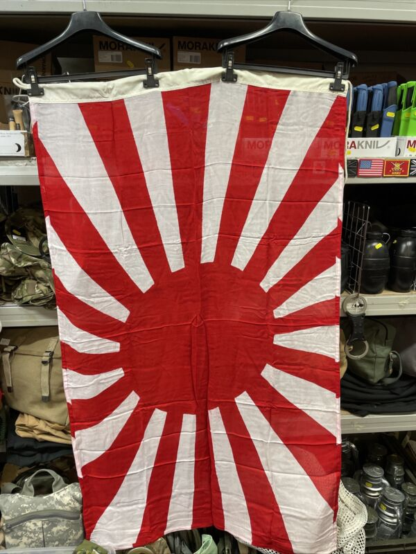 WW1 WW2 TYPE RISING SUN JAPANESE FLAG!! 5x3, 100% COTTON!! WHILE STOCKS LAST!!