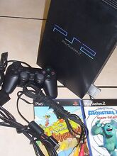 PS 2 CONSOLE WITH 4 GAMES Coombabah Gold Coast North Preview