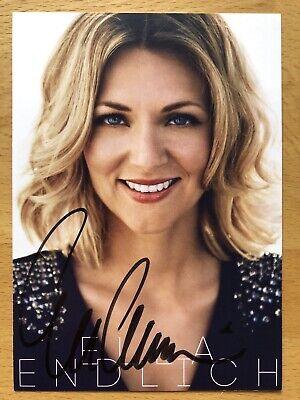Ella Endlich AK Im Vertrauen Autogrammkarte original signiert