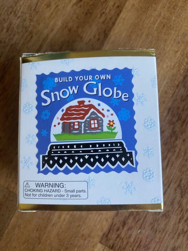 Miniature Editions Build Your Own Snow Globe Alison Trulock 2003 Mega Mini Kits