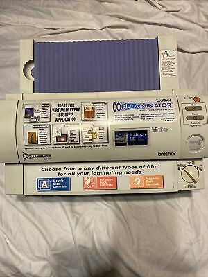 Brother Lx-900 Cool Laminator A6-a4 4.8-9.0 Laminating Machine Fast Shipping