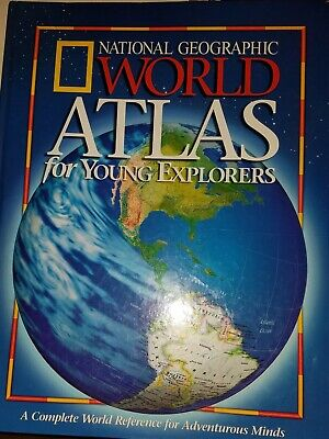 National Geographic World Atlas For Young Explorers. Hardcover