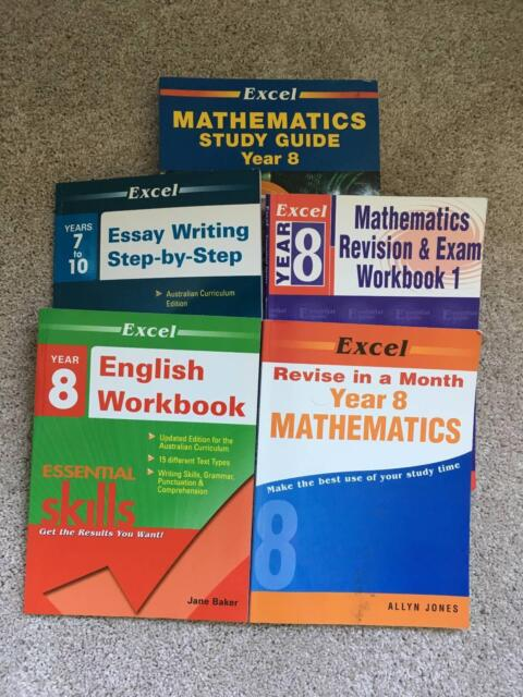 year 8 workbooks excel maths and english textbooks gumtree rh gumtree com au Excel Textbook Excel Answers