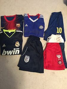 A lot of sports clothing fits age 10-12 years