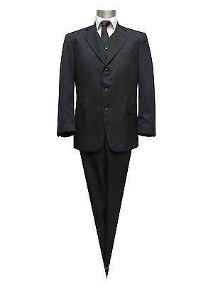 Muga Herren Anzug 2 teilig Gr.50 Schwarz