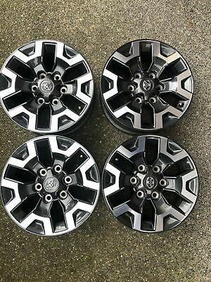 """16""""Toyota Tacoma TRD Dark Gray Factory OEM Alloy Wheels Rims 75189 05 - 2020"""