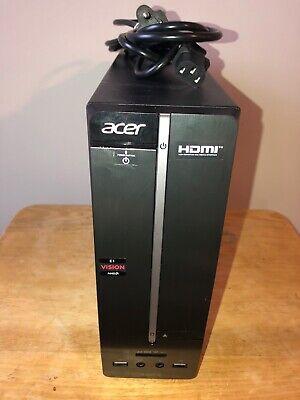 Acer Computer Aspire AXC100-UR10 AMD Dual Core 500gb HD 4gb DDR3 DVD Windows