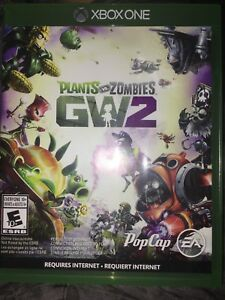 Pvz 2 xbox one negotiable