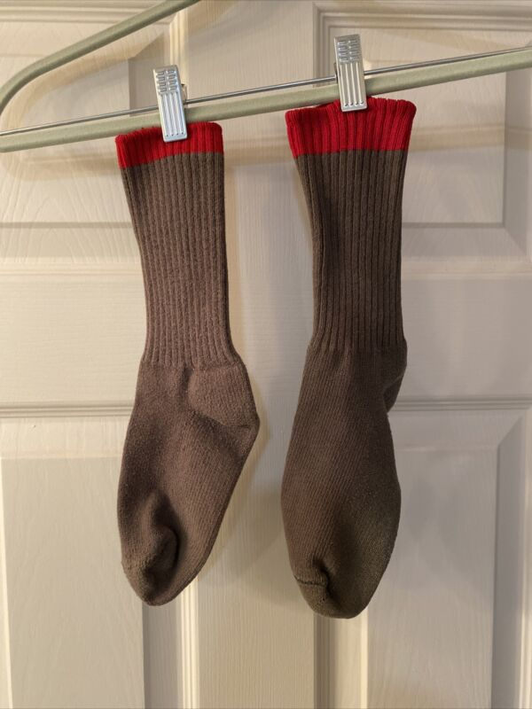 Older Boy Scout BSA Red Top Uniform Socks