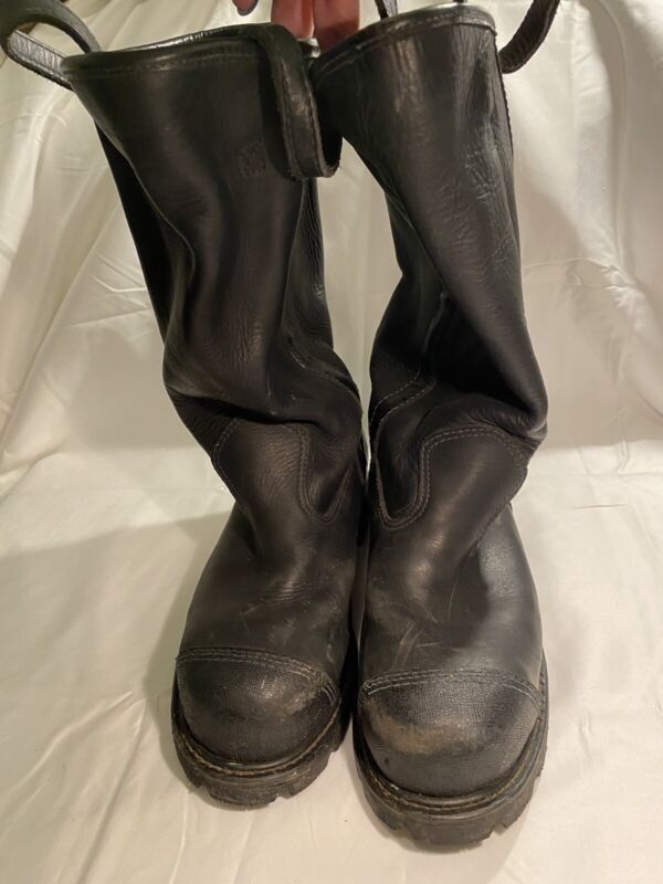 Sympatex Firefighter Boots - Size 8 W Firefighter Turnout Gear USED Made in USA