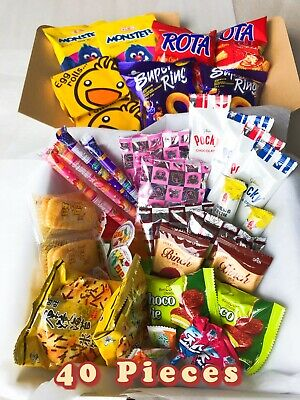 40 Piece Asian Snack Box *** Perfect Gift For Yourself Or Friends And Family!***