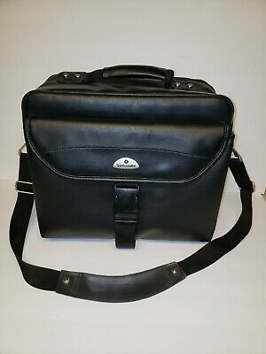 Samsonite Laptop Computer Padded Briefcase Messenger Bag