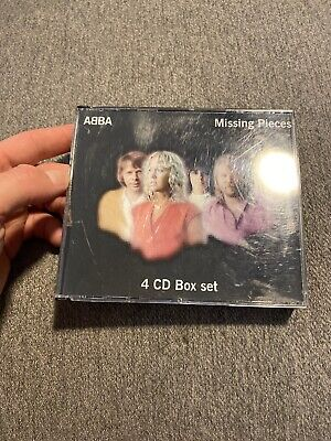 RARE USED CD: ABBA - Missing Pieces - 4 CD Box Set