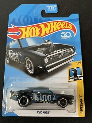 2018 HOT WHEELS KING KUDA SUPER TREASURE HUNT W/PROTECTOR