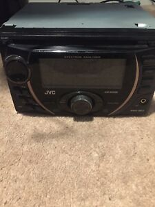 Double din car stereo deck