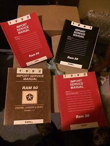 Dodge Ram Raider/Ram 50 service manuals