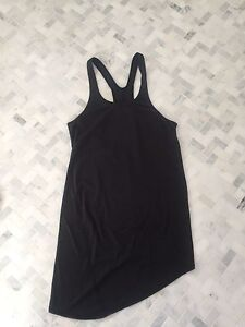 Lululemon dark grey singlet tank