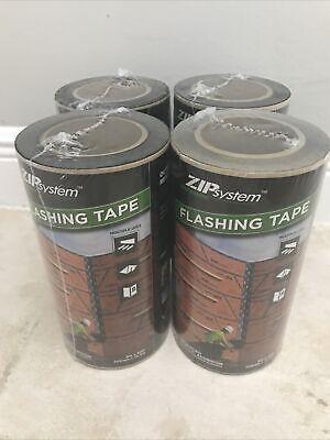 Huber Zip System Flashing Tape 9 X 50 Feet S-20024 4 Rolls Lot
