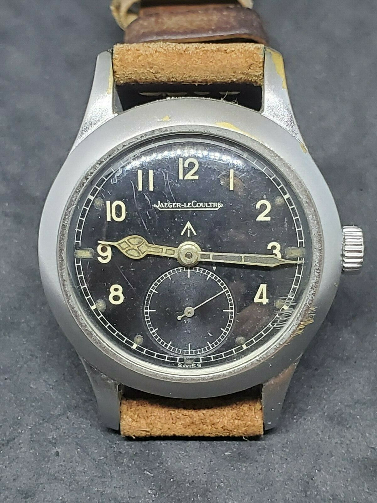 Rare 1944 Jaeger-LeCoultre JLC Royal Australian Air Force WWW Military Watch - watch picture 1