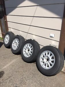 Ford rims on all season tires