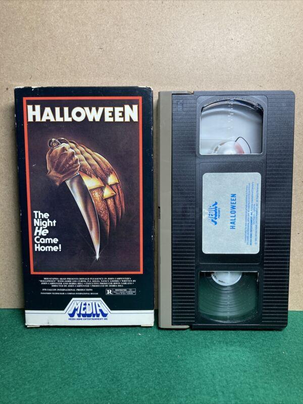 HALLOWEEN 1981 VHS MEDIA John Carpenters HORROR CULT CLASSIC Movie