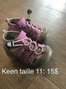 Keen taille 11