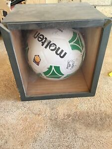 BRAND NEW Signed Netball in display box Adelaide Burton Salisbury Area Preview