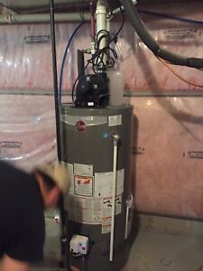 Hot water tank installation only 300 call 6478286789