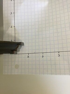 4 Wing Shaper Cutter. Edge Profile Carbide Tipped. 40 Mm Bore. Used