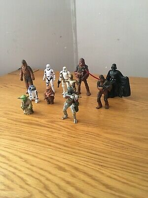 STAR WARS COLLECTION JOB LOT BUNDLE FIGURES