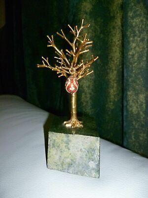 Fabergé Ei-Anhänger Russland Emaille,Zirkonium, 925 Silber,Granat, vergoldet  gebraucht kaufen  Twist