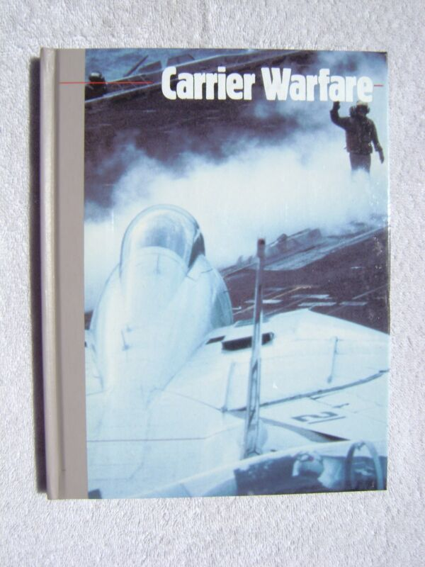 CARRIER WARFARE BOOK MARITIME NAUTICAL MARINE (#129)